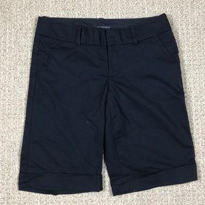 Banana republic Marin fit black Bermuda shorts 2